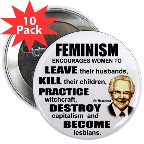 Pat Robertson on feminism